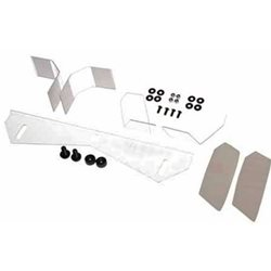 Serpent 1/8th Lola Lexan Body support and Wing Set