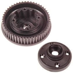 Serpent F180 Gear Differential Case / Pulley (L & R)