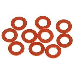 Serpent Aluminum 3 x 6 x 0.5mm Shim Set (10)