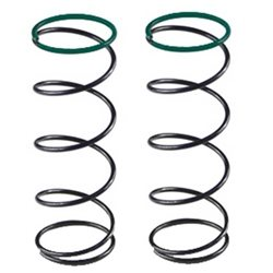 Serpent Front Spring Set (Green/5.5lbs) (2)
