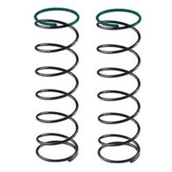 Serpent Rear Spring Set (Green/4.0lbs) (2)