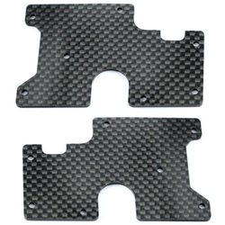 Serpent Carbon SRX8 Rear Lower Wishbone Insert V2 (2)