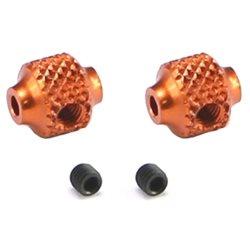 Serpent Aluminum Brake Adjust Collar (Orange) (2)