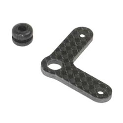 Serpent Carbon Rear Tank-bracket w/Grommet