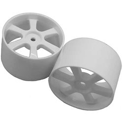 Serpent Foam Tire Rim 30mm (White) (2)