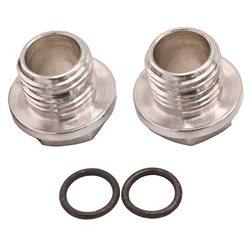 Serpent Aluminum Wheel Nut w/ 0-Ring (2)
