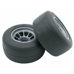 Sweep F1 Hard Front Pre-mounted Tire Set (2)