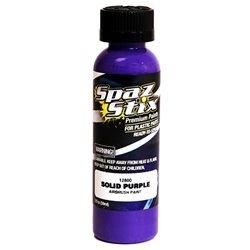 Spaz Stix Solid Purple Airbrush Paint (2oz)