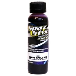 Spaz Stix Candy Apple Red Airbrush Paint (2oz).