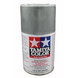 Tamiya TS-17 Aluminum Silver Lacquer Spray Paint (3oz)
