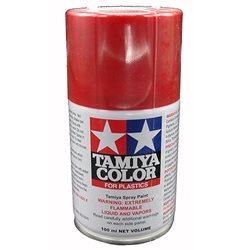 Tamiya TS-18 Metallic Red Lacquer Spray Paint (3oz)