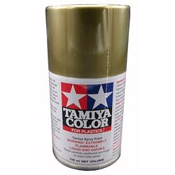 Tamiya TS-21 Gold Lacquer Spray Paint (3oz)