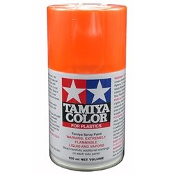 Tamiya TS-31 Bright Orange Lacquer Spray Paint (3oz)