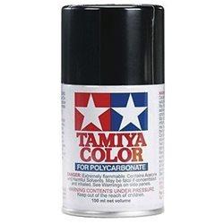 Tamiya PS-5 Black Lexan Spray Paint (3oz)