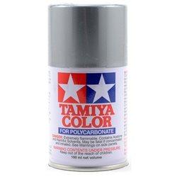 Tamiya PS-12 Silver Lexan Spray Paint (3oz).