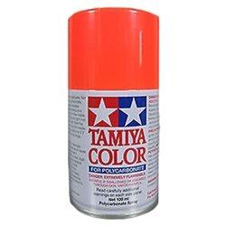 Tamiya PS-20 Fluorescent Red Lexan Spray Paint (3oz).