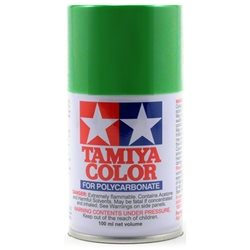 Tamiya PS-21 Park Green Lexan Spray Paint (3oz).