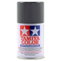 Tamiya PS-23 Gun Metal Lexan Spray Paint (3oz).