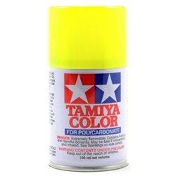 Tamiya PS-27 Fluorescent Yellow Lexan Spray Paint (3oz).