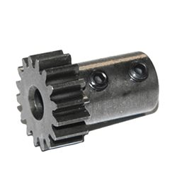 Tekno RC 5mm Bore Hardened Steel Long Shank Mod 1 Pinion Gear (12T-19T)