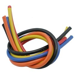 TQ Wire 10 Gauge V2 - 3' ea Wire (Back,Red,Orange,Yellow,Blue).