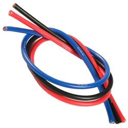 TQ Wire 13 Gauge - Brushed Motor 3 Wire Kit