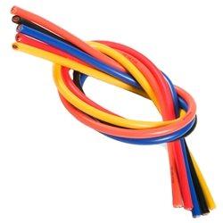 TQ Wire 13 Gauge - 3' ea Wire (Back,Red,Orange,Yellow,Blue,White).
