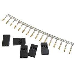 TQ Wire's servo cable ends and crimp connectors.