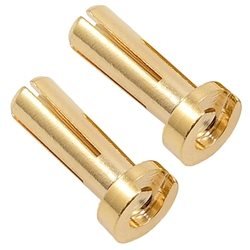 TQ Wire 4mm Low Profile Bullet (14mm Length) (2)