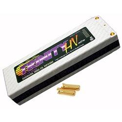 Team Trinity Hi-Voltage 2S 100C LiPo Battery w/5mm Bullets (7.4V/6500mAh)