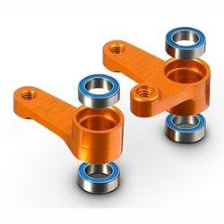 XRAY Aluminum Dual Servo Saver Arm + Ball-Bearings (L+R)