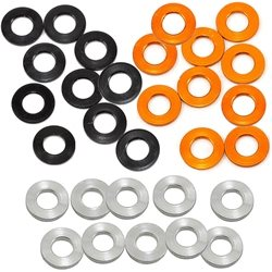 XRAY 3x6x1mm Alloy Shims (Silver/Black/Orange) (10).
