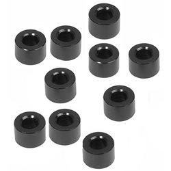 XRAY 3x6x4.0mm Alloy Shims (Black) (10).
