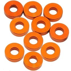 XRAY 3x7x2.0mm Alloy Shims (Orange) (10).