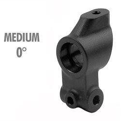 XRAY Composite Rear Upright 0° Outboard Toe - 1-Hole (Medium)