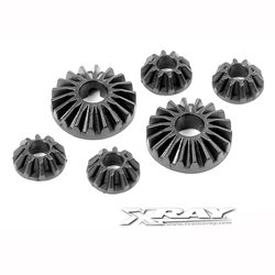XRAY Composite Gear Differential Bevel & Satelitte Gears (2+4)