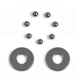 XRAY 2.8x6.5x0.8mm Carbide Axial Thrust Bearing Set
